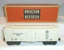 LIONEL No. 6472 REFRIGERATOR CAR, OB - EXC