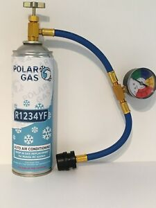 CAR Aircon Refill Regas Air Conditioning Top up R1234YF Gas hose replacement