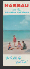 Nassau & the Bahama Islands 1954 Brochure For the Best Life of Our Time