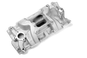 Weiand 8150 Speed Warrior Intake Manifold For Chevy Small Block 283 327 350