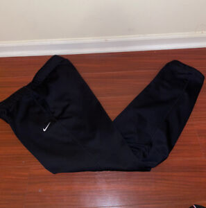 Nike Women's Black Sweatpants Pants Bottoms Athletic Medium