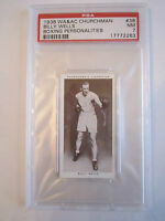 1938 BILLY WELLS BOXING CHURCHMAN PSA GRADED 7 NEAR - MINT CARD