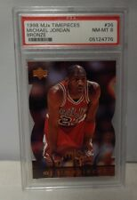 Michael Jordan Chicago Bulls 1998/99 Upper Deck MJX Timepieces #36 PSA 8 NM-MT