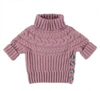 Angel's face vinrose chunky knit jumper 4-5yrs
