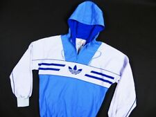VINTAGE ADIDAS OLDSCHOOL WEST GERMANY _ MEN'S ORIGINALS HOODED TRACK JACKET s:M