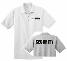 SECURITY POLO SHIRT Dry-Blend 50/50  all sizes