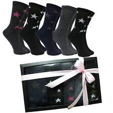 Calcetines Mujer Estrellas Caja Regalo Cumpleaños Ideas Box Moda Chica Dia Madre