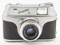 AKW Arette A Kamera Sucherkamera - Color-Isconar 1:2.8/45 Optik