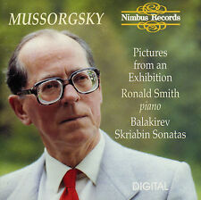 MUSSORGSKY  pictures from an exhibition  RONALD SMITH ( PIANO )