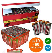 Batterie Pile Stilo AA Ministilo AAA Superlife Ultra Quality Lunga Durata Power