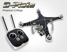 FLASH SALE! Drone Skin Sticker FULL Wrap DJI Phantom 3 Advance/Pro *BONUS Skin