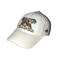Walt Disney Cruise Line 2002 Mickey And Friends White Strapback Hat Cap