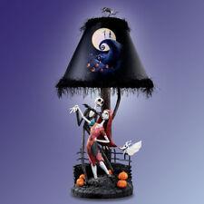Nightmare Before Christmas Jack Sally Moon Lamp Disney Bradford Exchange