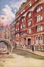 St James's & Mayfair. Stafford Hotel. Entrance to Green Park. Buckingham Palace.
