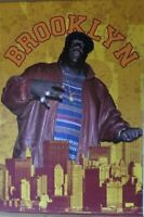 Notorious BIG Brooklyn -Poster-Laminated available-90cm x 60cm-Brand New