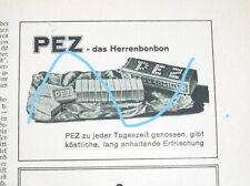 PEZ  Werbung - 30er Jahre Ed. Haas