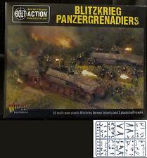 Bolt Action WGB-WM-511 WWII German Blitzkrieg Panzergrenadiers (30+3) Miniatures