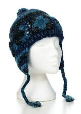 Hand Knitted Winter Woollen Crochet Ear Hat, One Size, UNISEX CEH7