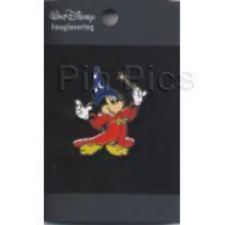Disney Pin 45018 WDI Sorcerer Mickey with Wand Fantasia Red Robe Cast Member *