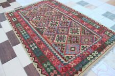 432724..Best Quality Hand Woven Lamb Wool Kilim..Size ..254.x 161..CM