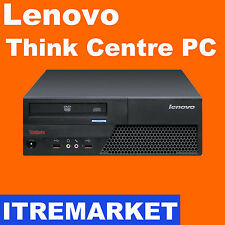 Lenovo  Core Duo E7500 2x 2.93GHz 4GB 160GB DVDRW Windows 7 PC Desktop Computer