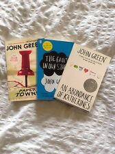 John Green: The Fault In Our Stars, Paper Towns, An Abundance of Katherines