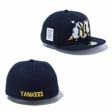 NEW ERA 59FIFTY Fitted Cap CLOUD New York Yankees Navy From Japan with Tracking