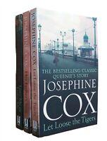 Josephine Cox 3 Books Romance Family Saga Queenies Sagas + Love Me Or Leave New