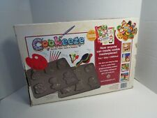 Cookeeze Holiday Baking And Decorating Kit Complete With Guide Recipe Book