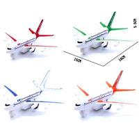 Modelo aire plástico Niños Tire Modelo de avión de pasajeros de avión