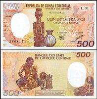 Equatorial Guinea 500 Francs 1985, UNC, P-20