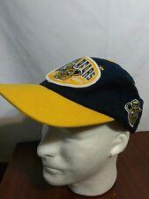 University of California Golden Bears Navy/Yellow Brim Snapback Hat **Free S&H**