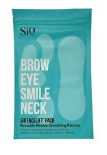 SIO FaceLift Wrinkle Smoothing Patches Reusable BrowLift NeckLift