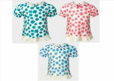 George Floral 100% Cotton T-Shirts & Tops (0-24 Months) for Girls