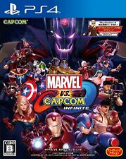Marvel vs. Capcom Infinite SONY PS4 PLAYSTATION 4 JAPANESE VERSION