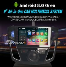 "AUTORADIO 9"" Android 8.0 Octa Core 4Gb 32Gb FORD Focus 2012-2017 Gps Canbus Usb"
