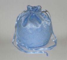 Satin & Lace Dolly Bag Handbag / Purse Wedding Bridesmaid Silver White Ivory