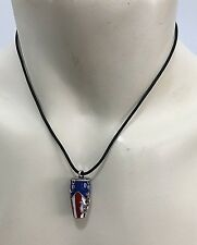NEW CONGA PUERTO RICO PR FLAG PENDANT NECKLACE Unisex Adjustable SOUVENIRS
