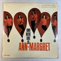 Ann-Margret And Here She Is - RCA Victor LPM 2399 33 RPM Vinyl LP Album Mono