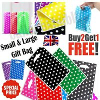 Candy POLKA DOT Plastic Bag Sweet Favour Gift Shop Party Wedding Birthday 2sizes