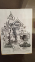 Don Davey Signed & Dated Hass Lilienthal House San Francisco 1979 8x10 Print