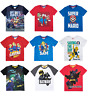 Boys Kids Official Various Character Short Sleeve T Tee Shirt Top 3 - 12 Years