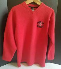 Tampa Bay Buccaneers, Red Long Sleeve Fleece Pullover, Size Medium