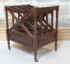 Mahogany Magazine Rack Classic Style Lounge Living Room Storage Box