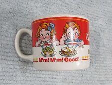 Campbell's Soup Kids 2000 M'm! M'm! Good! 3x4 Mug Cup Gibson Porcelain FREE S/H