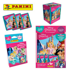 More details for panini | disney princess live your adventure | sticker collection starter, packs