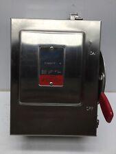 Thomas & Betts SHD221SN-TB Heavy Duty Safety Switch 120/240 VAC 250 VDC 30 AMP