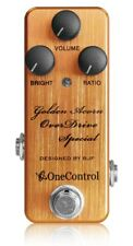 One Control Golden Acorn Overdrive Special Guitar Effect Pedal