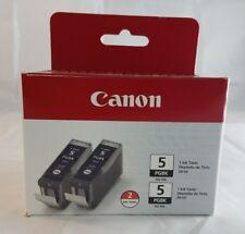 Canon PGI-5BK Black Cartridge 2-Pack New Authentic