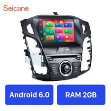 Android 6.0 GPS Navi Car Stereo Radio Touchscreen Head Unit for Ford Focus 11-13